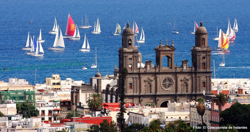 Las ciudad de Las Palmas de Gran Canaria
